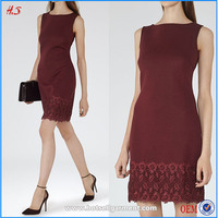 Sleeveles red slim embellishments for pictures of elegant casual sexy mature ladies dresses