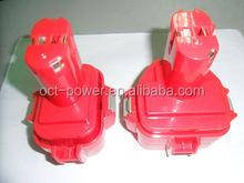 Replacement 12V 2000mAh Ni-CD MAKITA Power Tool Battery for MAKITA 1220 1222 192598-2 192681-5 638347-8, 12 Volt 2.0AH Ni-CD