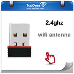 Mini USB WiFi Adapter N 802.11 b/g/n Wi-Fi Dongle High Gain 150Mbps Ralink wireless Antenna wi fi for computer Phone