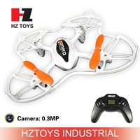 Hot product 2.4G 4 ch rc drone mini helicopter with camera and LED.