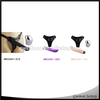 Strap On Rechargeable Vibrating Silicone Sex Vibrator Dildo for Girl,10 Functions Gay Woman Dildo with Belt