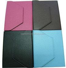 Sublimation PU Tablet Case for andriod tablet pc, with four removerable hooks