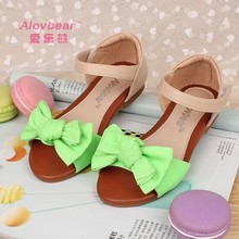 LX210 women shiny flat shoes low price ladies sandals high heel shoes for kids Korean style girls shoes with fluorescent color