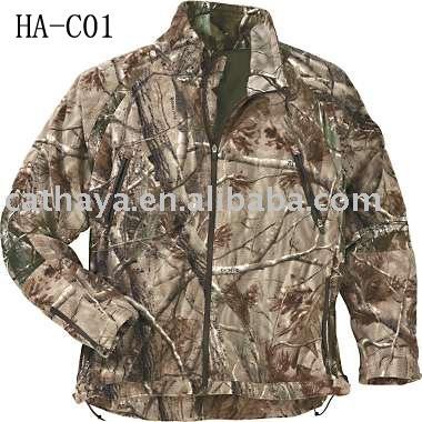 hunting camouflage coat