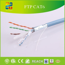 CAT6 CABLE 1000FT FTP SOLID NETWORK ETHERNET CABLE BULK WIRE 550MHz 23 AWG LAN BLUE CHINA cable cat6 wooden spool