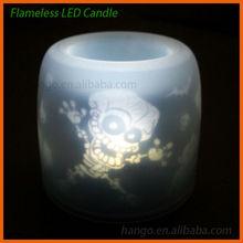 Sound Sensor Halloween Flameless LED Flashing Candle