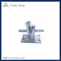 Stainless Steel 316 Cross Bollard for Boats THE0008