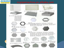 Injection plastic moding type plastic,plastic mould for driveway drain covers