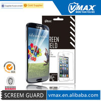 High Quality + Free Sample Matte Anti-GLare Anti uv Mobile Phone Clear screen protector for i9500 / Samsung s4 screen protector