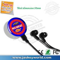 newzeland 2014 promotion gift large capacity badge speaker mp3 player