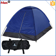 Blue waterproof solar camping tent for trailer