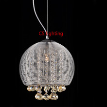 Modern glass pendants lighting hospitality lighting family