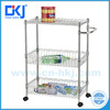 HKJ-B005 Chrome finish Eco-Friendly Feature Closet Wire Shelving