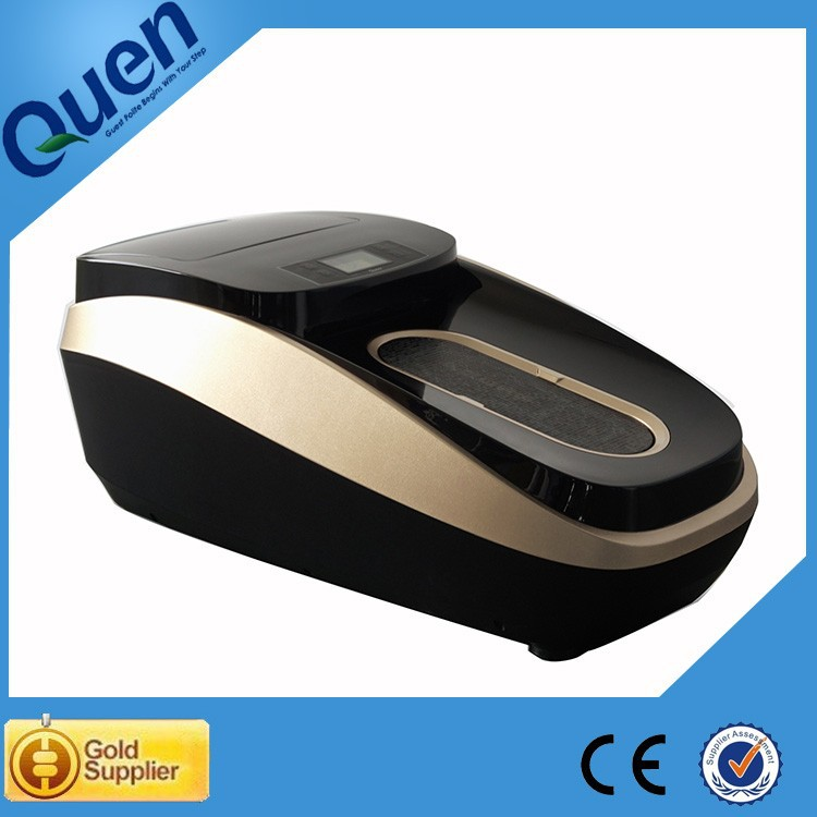 shoe covering machine