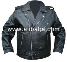 Leather Motorcycle Classic Jacket
