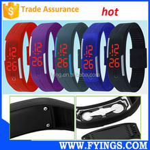 2015 NEW fashion silicone wrist watch LED wholesale