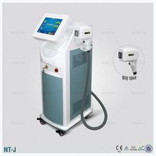 OEM service NO PAIN 808 nm diode laserlaser hair removal Lower Leg