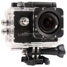 < 10x Optical Zoom and Red / Pink Color SJ4000 SJCAM 1080p exreme action sport camera with good night vison