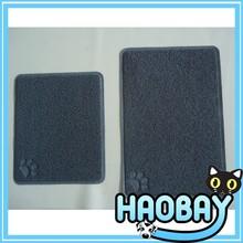 Coil Loop Pile Durable Custom Dog/Cat Toilet Floor Used PVC Pet Mat