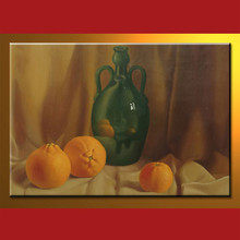 Newest design wholesale oil on canvas painted still life