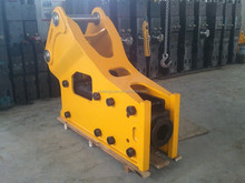 Side type hydraulic road breaker for excavator attachment