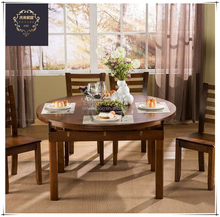 Multi-function high quality solid wood folding dinning table
