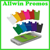 Personalized 3M Sticker Silicone Adhesive Sticky Cell Phone Smart Wallet