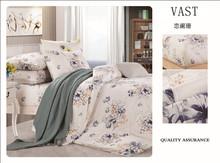 Latest Design Elegant pure linen bedding set//pure linen bed bag