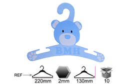cute printed logo laundry cloth small hanger