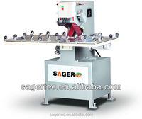 Manufacturer supply horizontal flat glass grinding machine