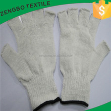 winter half finger working gloves for hand protection