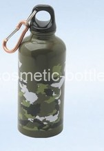 400ml Cylinder Round Aluminum Water Bottle (LV400-A)