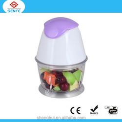 Electric mear & vegeatabler chopper / juicer blender with 600ML plastic bowl