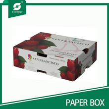 CHERRY FRUIT PAPER PACKAGING BOXES FOR SALE