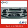Car accessories auto truck rear bumper bodykit for bmw e70 X5 series