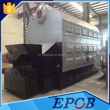 High Efficiency Drouble Drums Chain Grate Coal Fired Industrial Steam Boiler