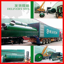 automatic 10 ton diesel pyrolysis Scrap Tyre Recycling Plant