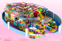 indoor castle playground for kids playing