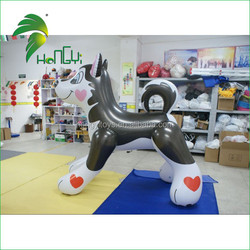 2015 High Quality inflatable husky ,China inflatable hot dog Suppliers