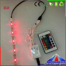 IR Remote 24 Key Chasing Running Strip LED Controller, RGB LED Strip IR remote controller.