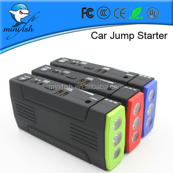 The best minifish 400 amp car jump starter power bank for car battery