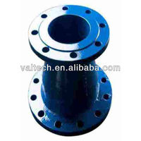 ductile iron pipe fitting connect flange