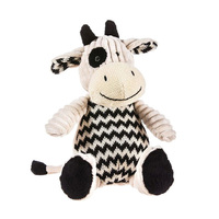 Cow knitted soft plush toy,Cow soft plush toy farm animal