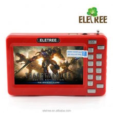 Bulit-in e-book function 4.3 inch mp4 player with mp3 player EL-159A