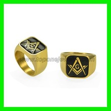 More than 100 styles stainless steel masonic ring jewelry manufacturer