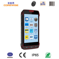 Manufacturer Portable Smart Phone 2d barcode scanner/NFC reder 3g handheld android pda rfid reader writer terminal ce iso rohs