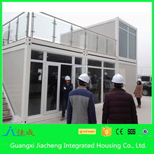 2015 Modern Cheap Prefab Houses Solid Light Steel Container Office