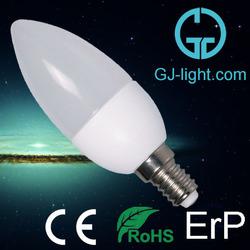 expensive C37 E14 plastic candle housing 5w 110v mini led bulb light