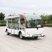 23 seat zero emission 9kw ac motor electric vehicle for sale CE Approved DN-23 (China)