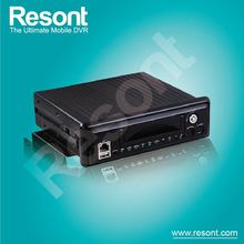 Resont Mobile Vehicle 4CH 4 channel D1 HDD Hard Disk Drive Live Viewing Video 1TB Storage MDVR motion activated car dvr